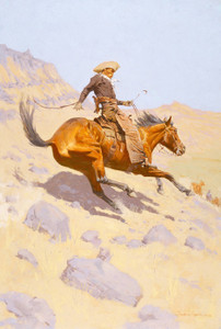 Art Prints of The Cowboy II by Frederic Remington