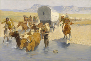 Art Prints of The Emigrants by Frederic Remington