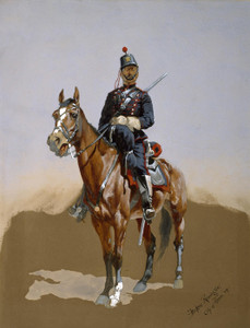 Art Prints of The Gendarme by Frederic Remington