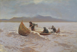 Art Prints of The Howl of the Weather by Frederic Remington