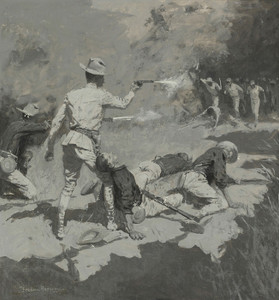 Art Prints of The Last Stand by Frederic Remington