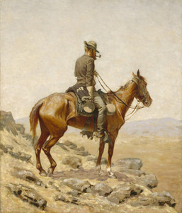 Art Prints of The Lookout by Frederic Remington