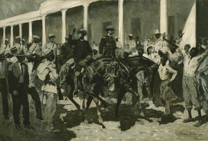 Art Prints of The Return of Gomez to Havana by Frederic Remington