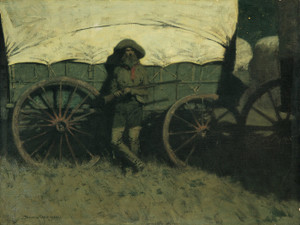 Art Prints of The Sentinel by Frederic Remington