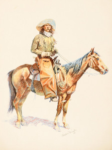 Art Prints of Arizona Cowboy II by Frederic Remington