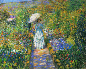Art Prints of Garden Path by Frederick Carl Frieseke