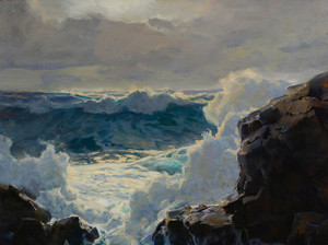 Art Prints of Breaking Waves by Frederick Judd Waugh
