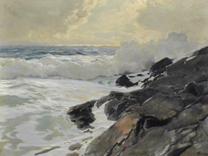 Art Prints of Along the Coast by Frederick Judd Waugh