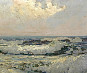Art Prints of Seascape by Frederick Judd Waugh