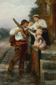 Art Prints of Fathers Return by Frederick Morgan
