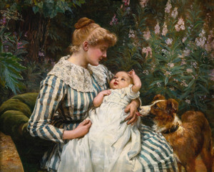 Art Prints of A Gentle Reminder by Frederick Morgan