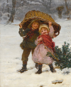 Art Prints of Yuletide by Frederick Morgan