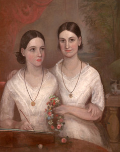 Art Prints of Daughters of Reverend William Browne by Frederick Strange