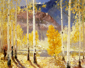 Art Prints of Golden Autumn by Fremont Ellis