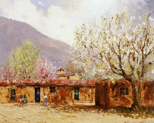 Art Prints of Old Adobe by Fremont Ellis