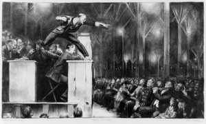 Art Prints of |Art Prints of Billy Sunday by George Bellows