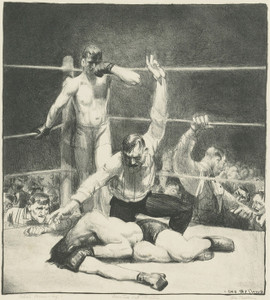 Art Prints of |Art Prints of Counted Out, First Stone by George Bellows