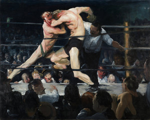 Art Prints of |Art Prints of Stag at Sharkeys by George Bellows