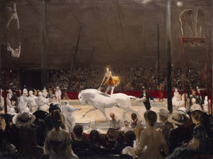 Art Prints of The Circus by George Bellows