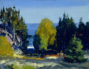 Art Prints of The Grove, Monhegan by George Bellows