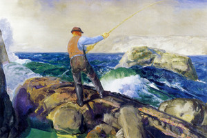 Art Prints of The Fisherman by George Bellows