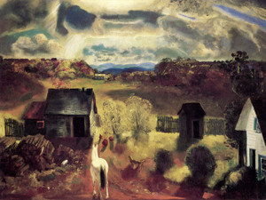 Art Prints of The White Horse by George Bellows