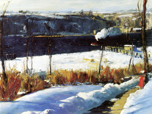 Art Prints of Winter Afternoon by George Bellows