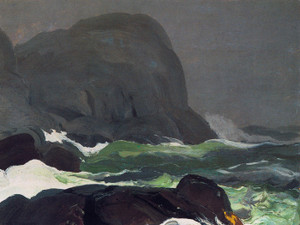 Art Prints of Headland in Fog by George Bellows