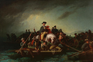 Art Prints of Washington Crossing the Delaware, 1856 by George Caleb Bingham