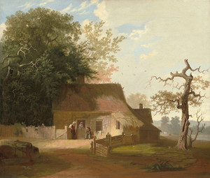 Art Prints of Cottage Scene by George Caleb Bingham