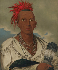 Art Prints of Black Hawk Sauk Chief by George Catlin