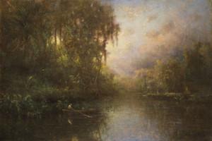 Art Prints of Fishing near Tarpon Springs by George Inness