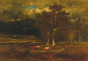 Art Prints of Approaching Storm by George Inness