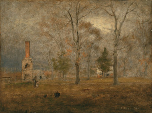 Art Prints of Gray Day, Goochland by George Inness