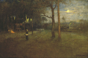 Art Prints of Moonlight, Tarpon Springs by George Inness