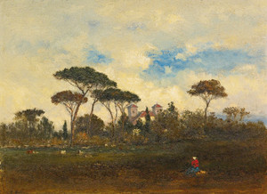 Art Prints of Souvenir of Italy by George Inness