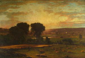 Art Prints of Peace and Plenty by George Inness