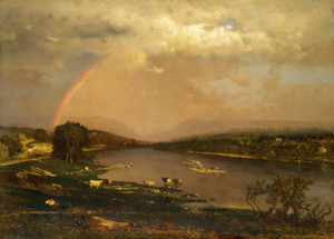 Art Prints of The Delaware Water Gap by George Inness