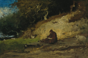 Art Prints of The Hermit by George Inness