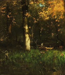 Art Prints of The Home of the Heron by George Inness