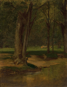 Art Prints of Trout Stream, North Conway by George Inness