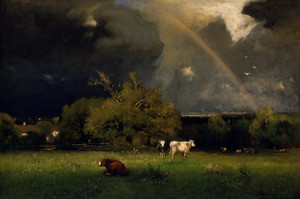 Art Prints of The Rainbow by George Inness