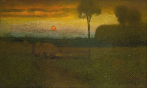 Art Prints of Evening Landscape by George Inness