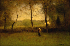 Art Prints of Wood Gatherers, an Autumn Afternoon by George Inness