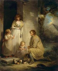 Art Prints of Selling Guinea Pigs by George Morland