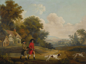 Art Prints of The Hunt by George Stubbs