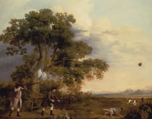Art Prints of Two Gentlemen Shooting by George Stubbs