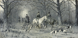Art Prints of The Return Home after a Good Day by George Wright
