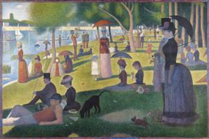 Art Prints of A Sunday on La Grande Jatte, 1884 by Georges Seurat