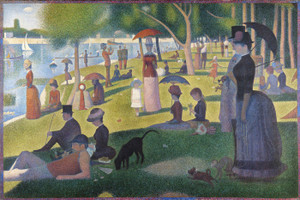 Art Prints of A Sunday on La Grande Jatte, 1884 by Georges Seurat